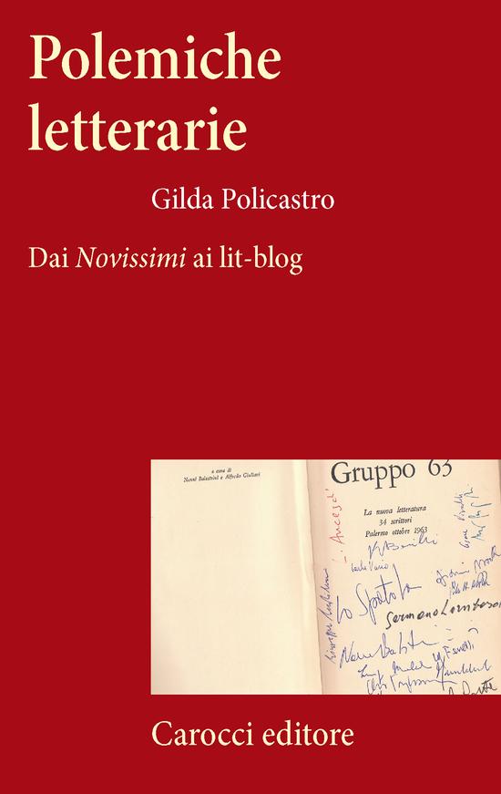 Copertina del libro Polemiche letterarie